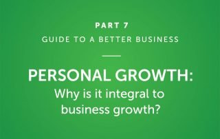 Personal Growth: Why is it integral to business growth?